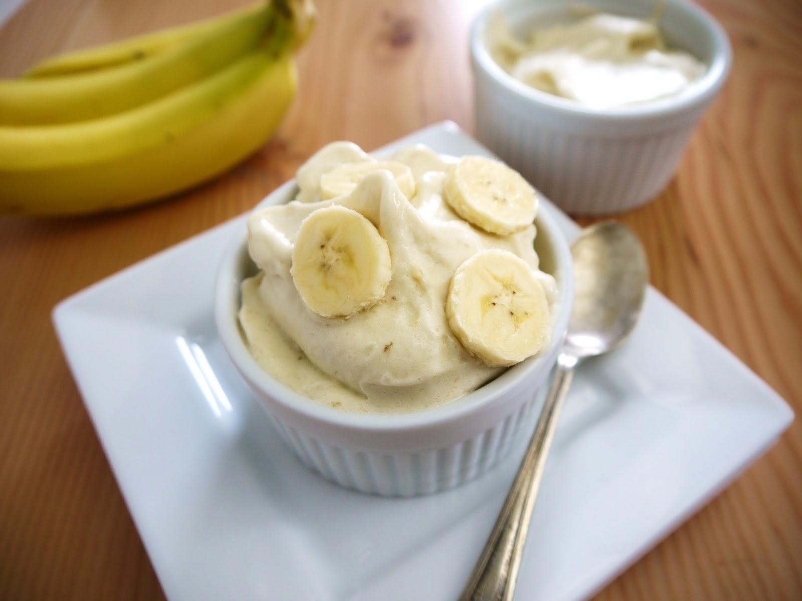 Il gelato alla banana